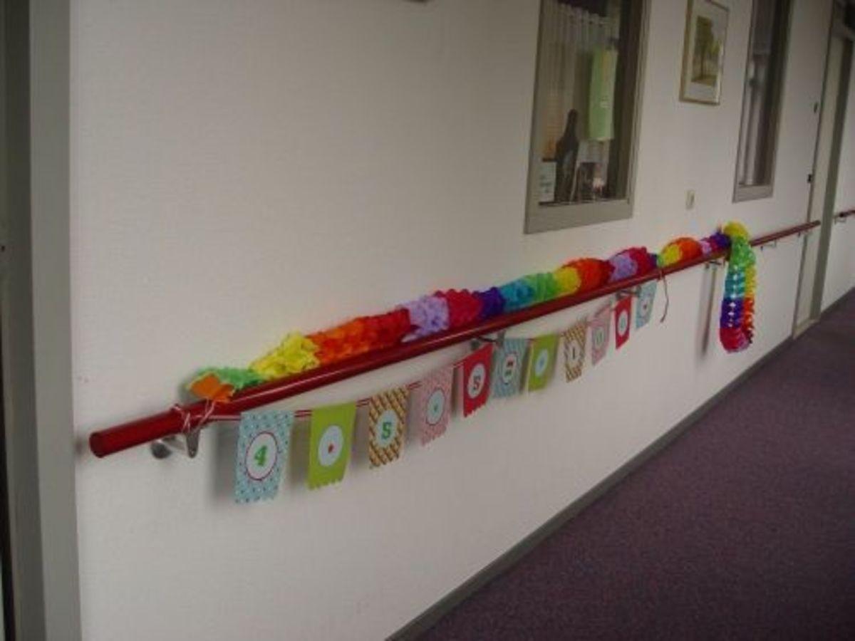 moms 100th birthday decoration