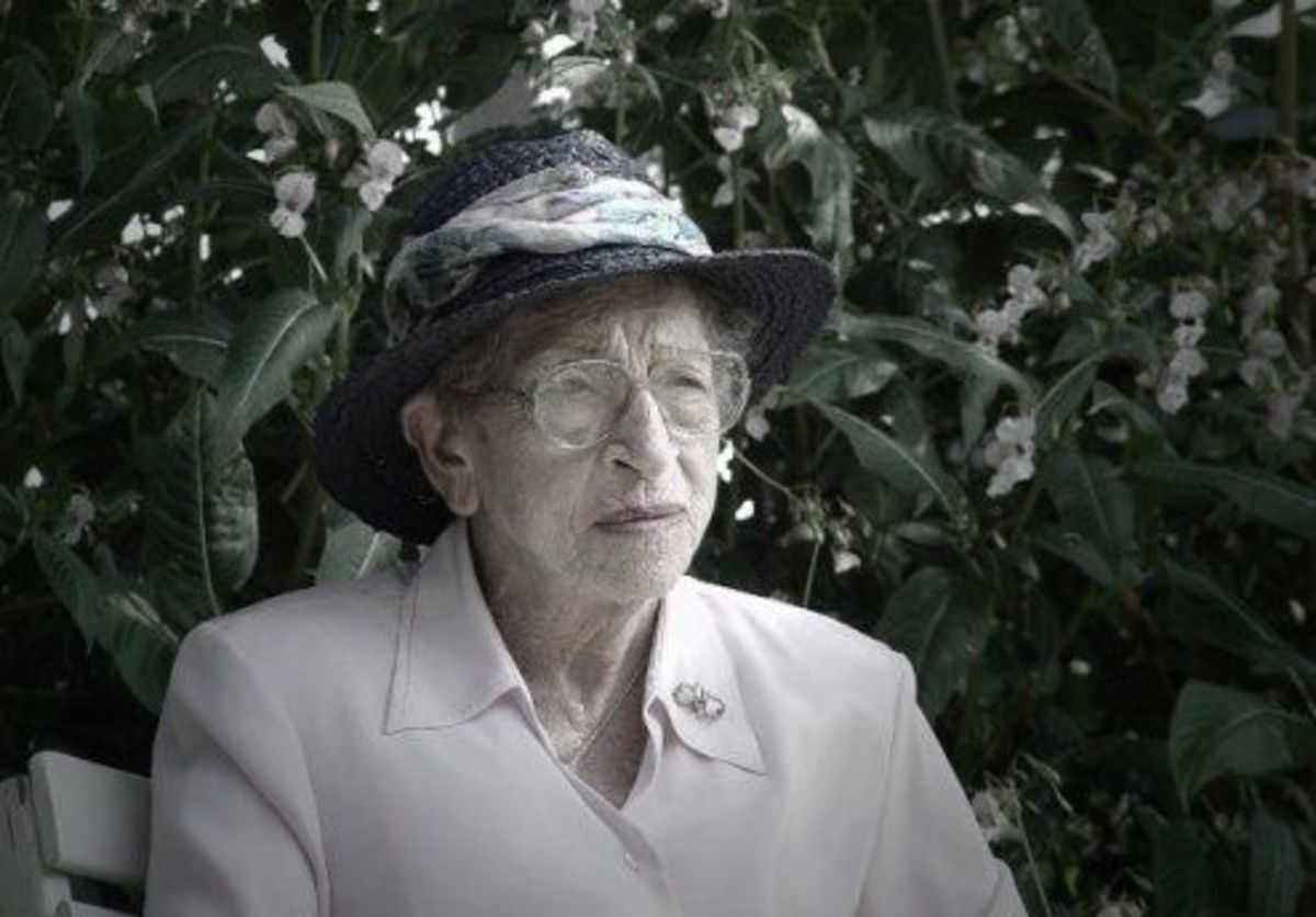 My Mom almost 99 years old