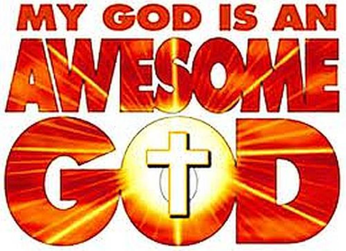 God is an awesome God.