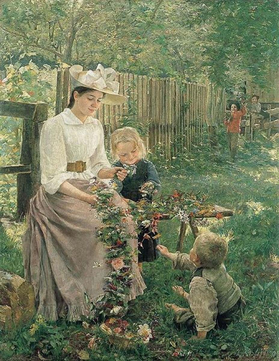 Summer, by Ivana Kobilca. 1889