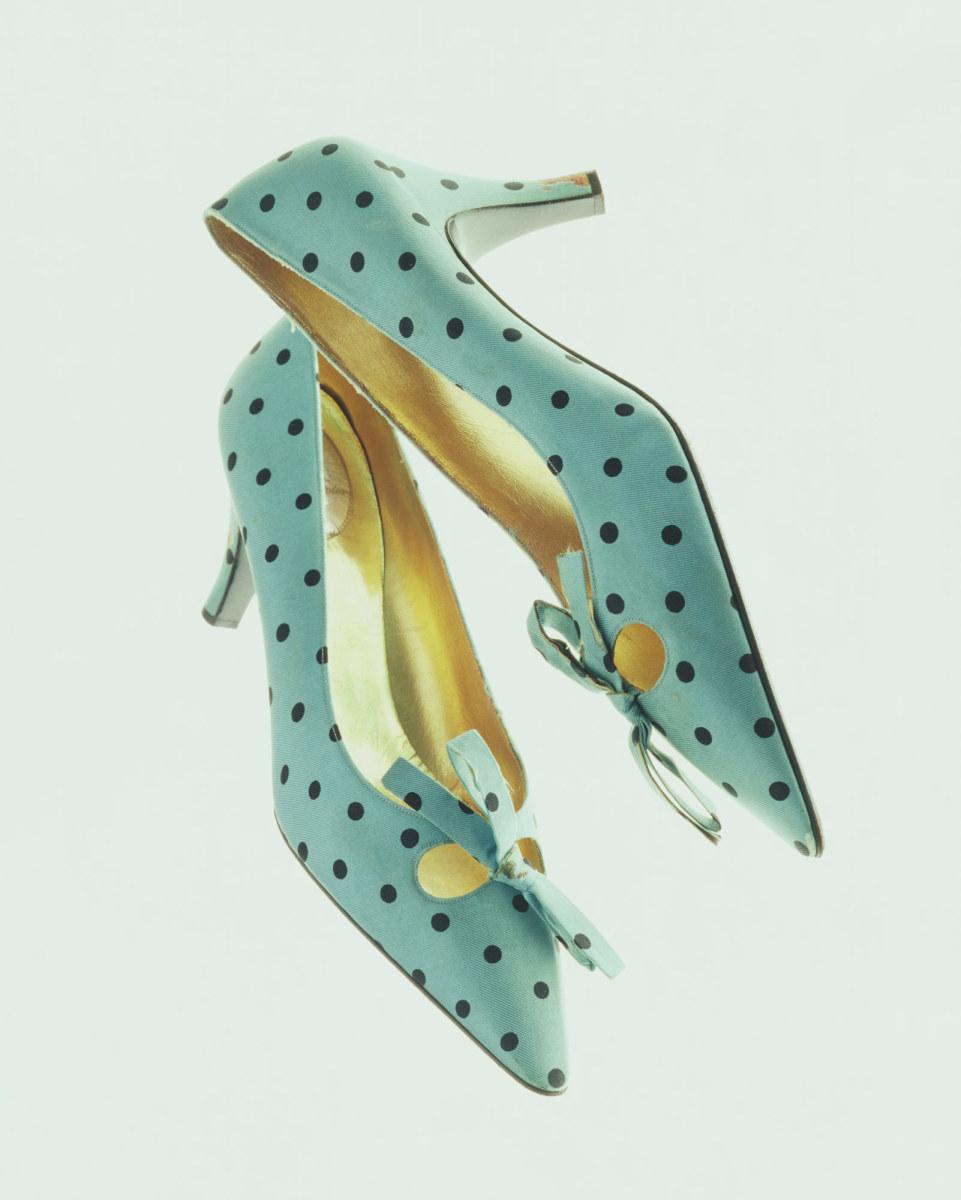 1950's shoes by Roger Vivier. Image by Masayuki Hayashi