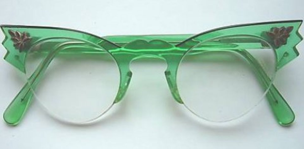 1950's cat glasses..Image from Wiki Commons