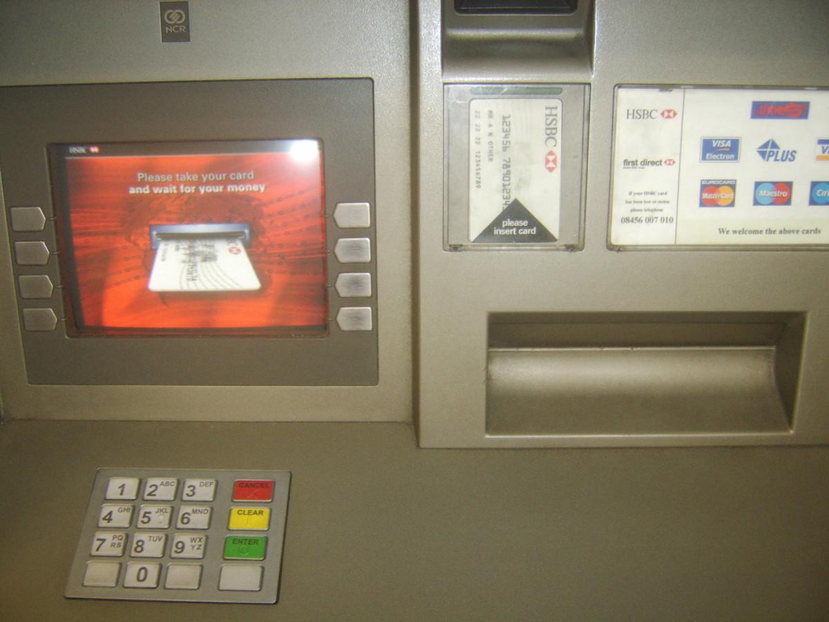 Supermarket ATM's - Toys for public amusement?
