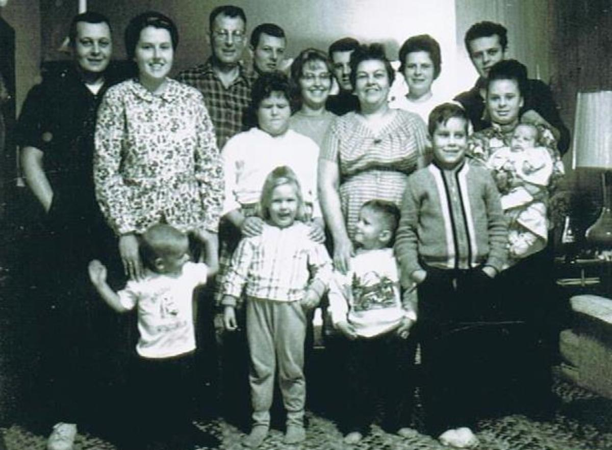 His Family