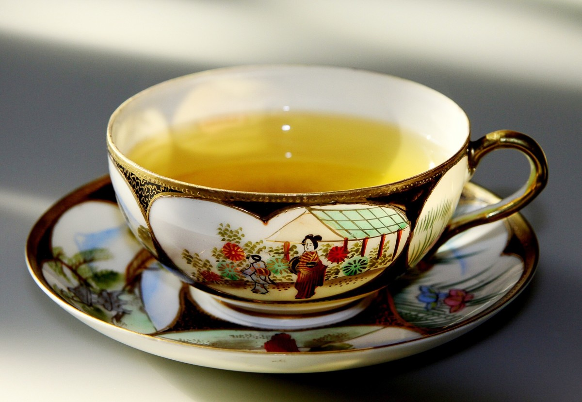 A cup of hot green tea can be comforting, but only up to a point.