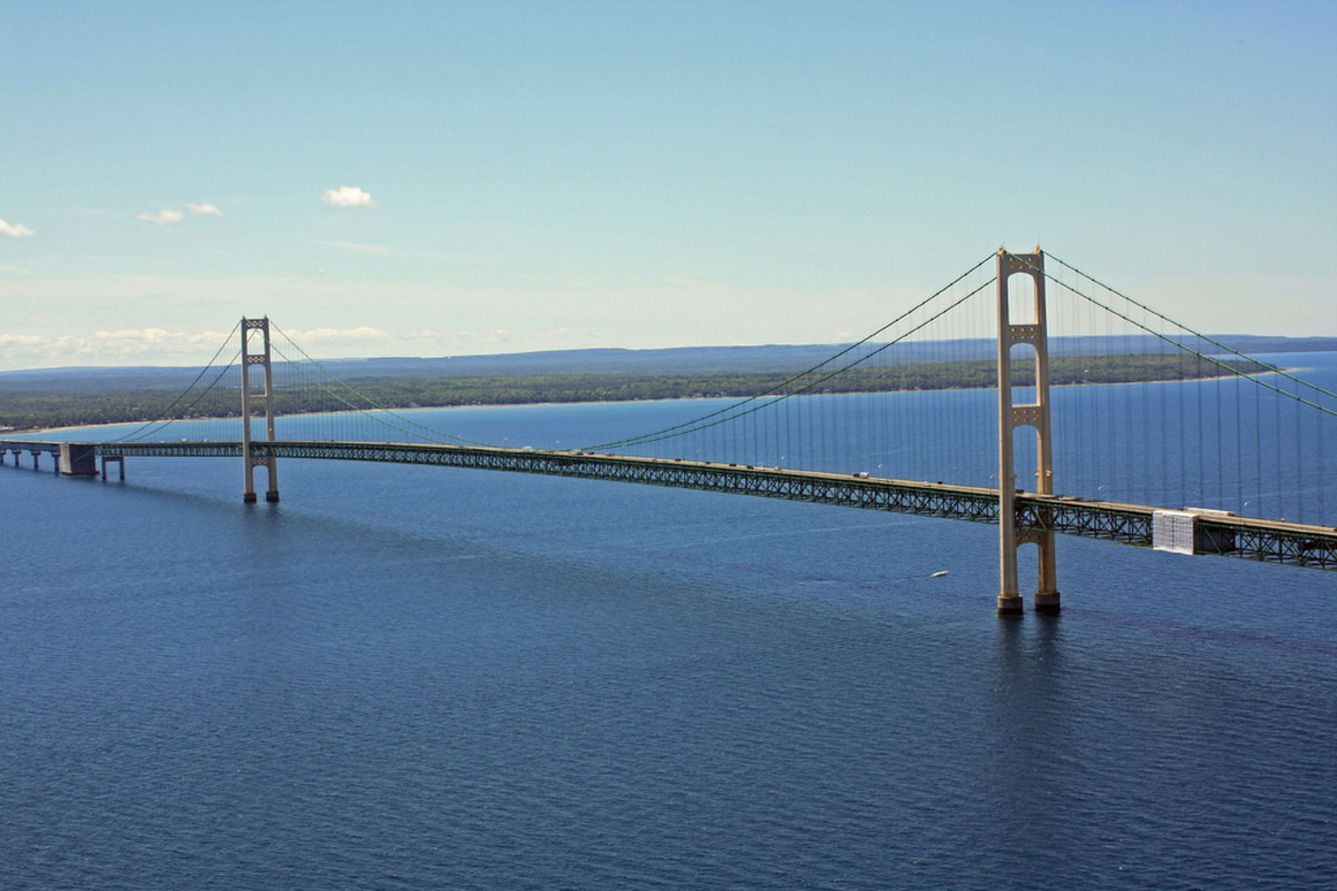 You know you're from Michigan when you know how to say Mackinac (The Mackinac Bridge)