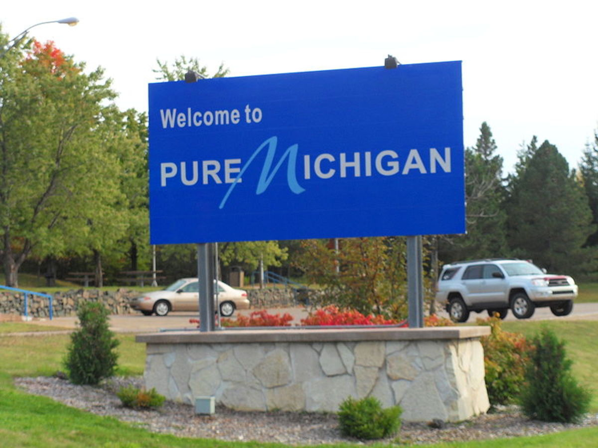 Pure Michigan, not like those fake Michigans sold at mall kiosks
