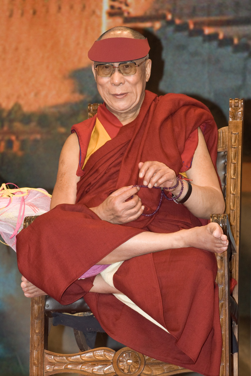 The Dalai Lama in 2007