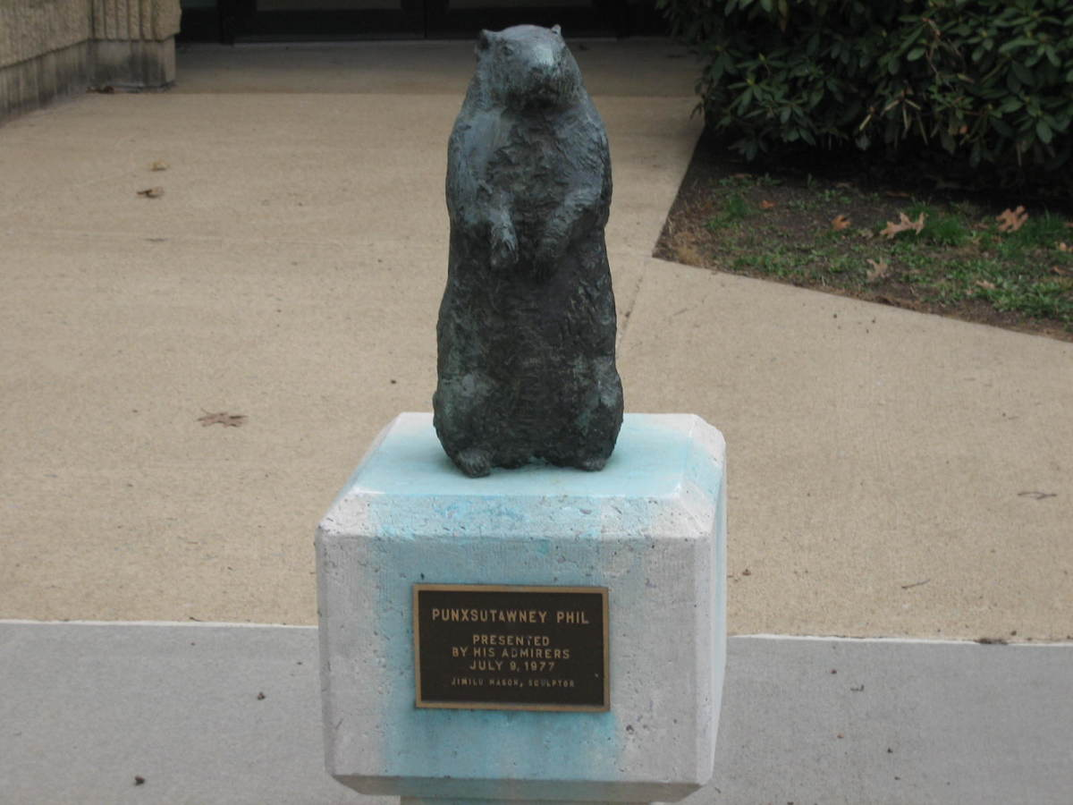 Yet another monument erected to groundhog worship.