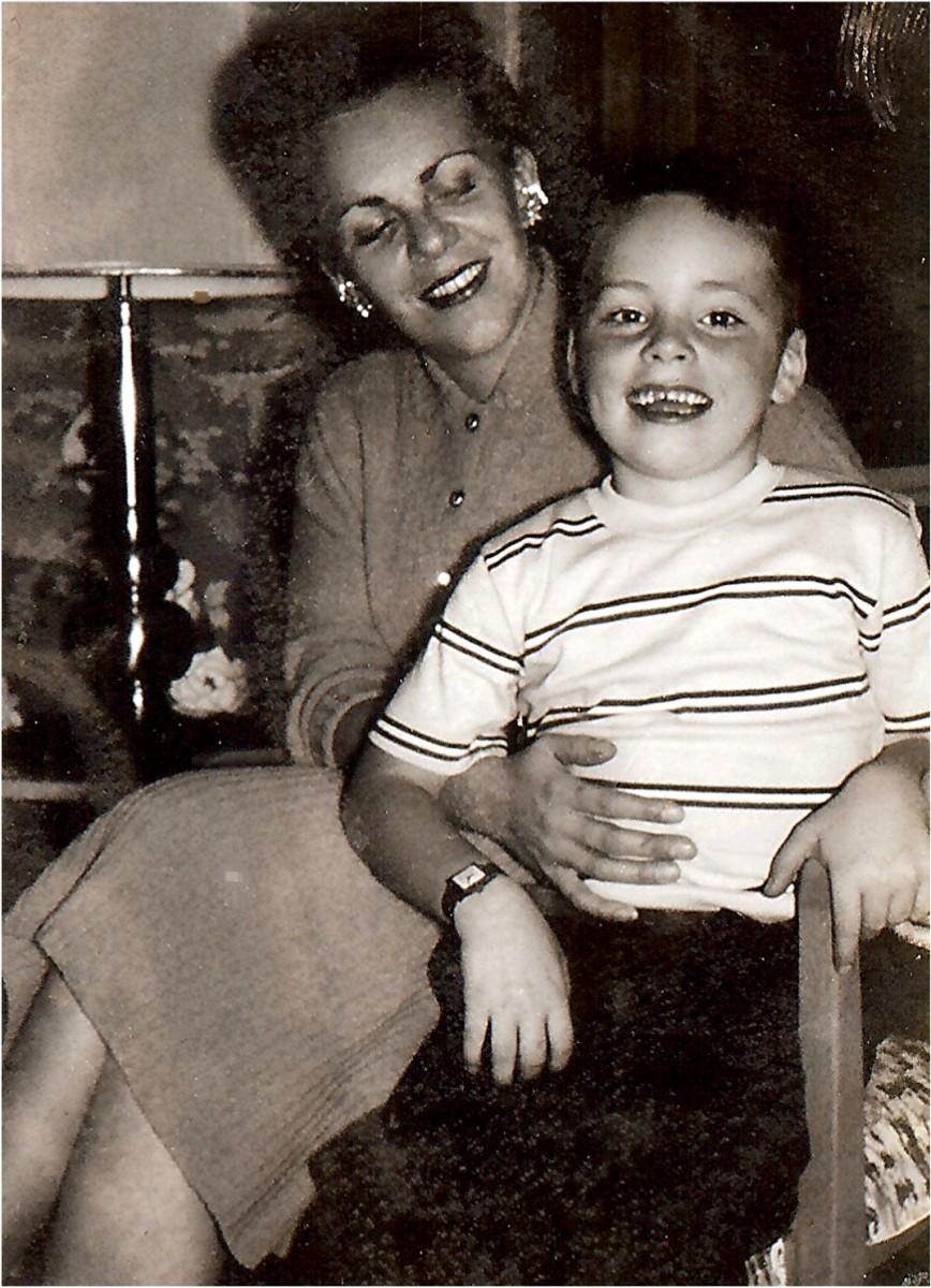 My mother and youngest brother Jim