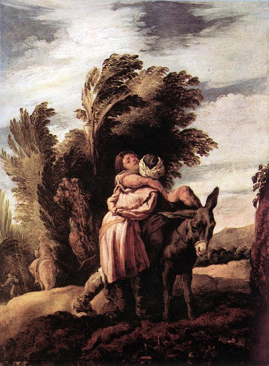 Parable of the Good Samaritan.
