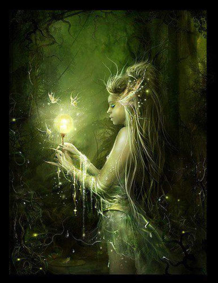 A fairy has been watching an old beggar for quite a while. And she appeared in the beggars dream to give her another chance in life.