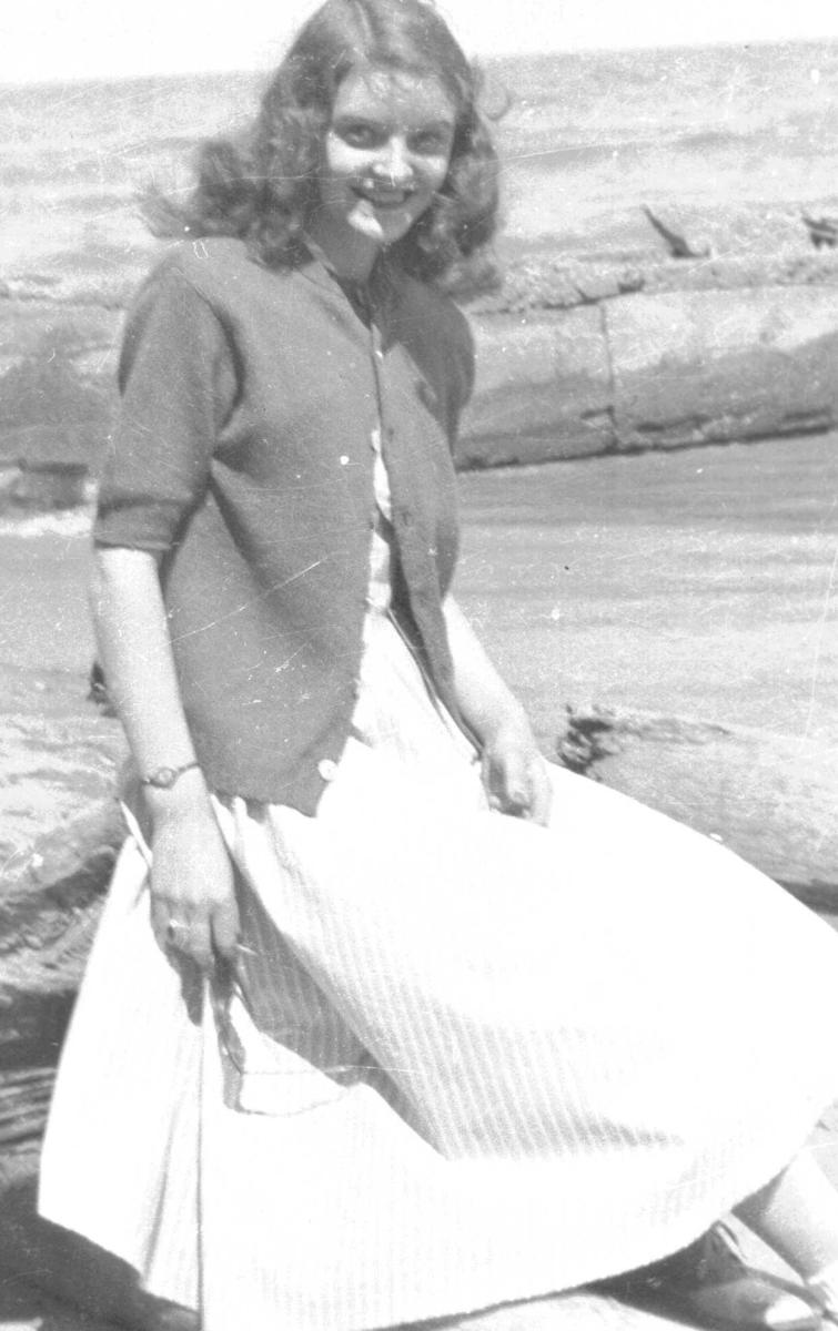 My mother when she was young.