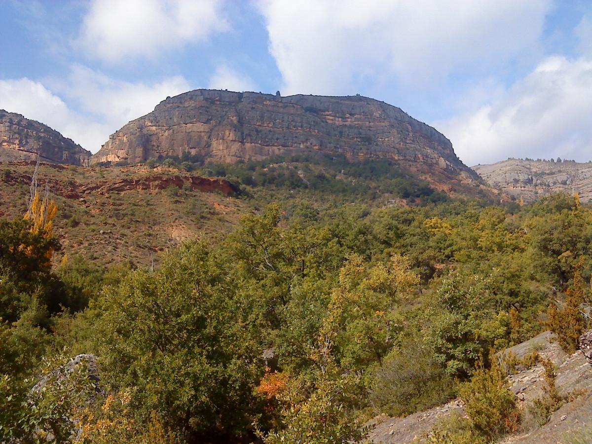 Catalonian Pyrenees near Tremp