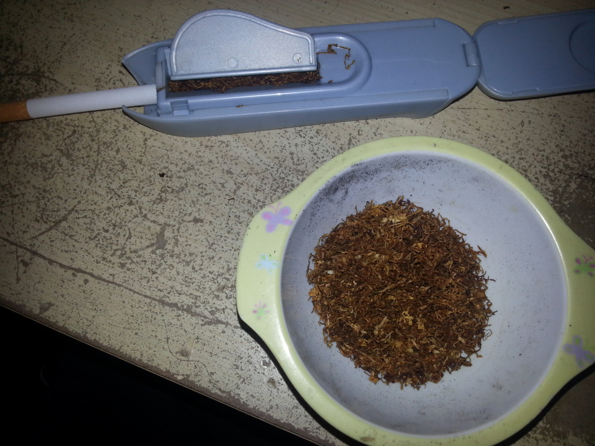 I like to make my own cigarettes, not only is it a cheaper alternative but there is something theraputic about it.