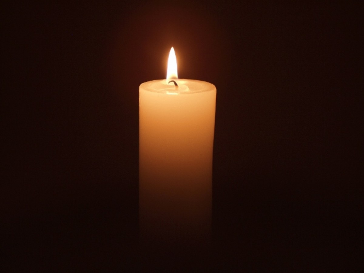 Traumatic loss can elevate faith and help the bereaved find solace. Candles are used often as symbols of hope as loved ones keep memories alive in their hearts and minds.