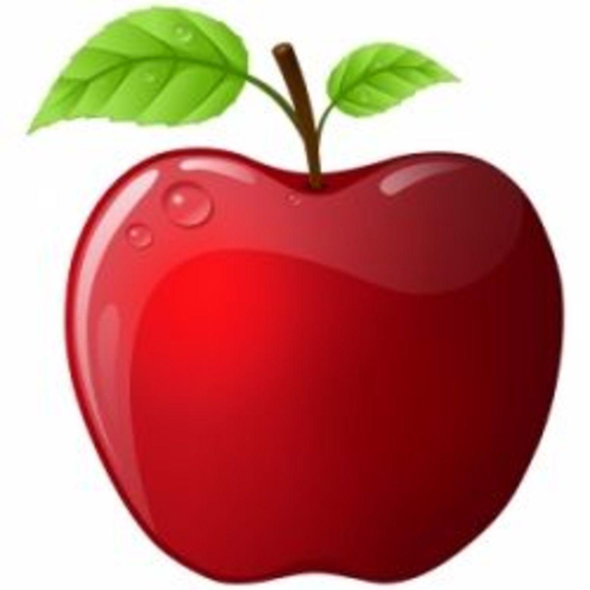 Halloween-apples