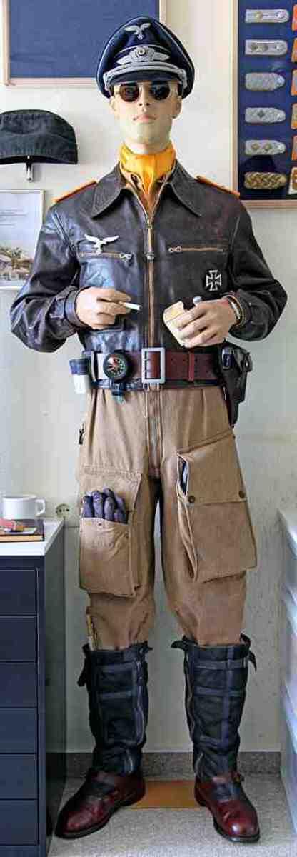 German Fighter Pilot Uniform 1940s