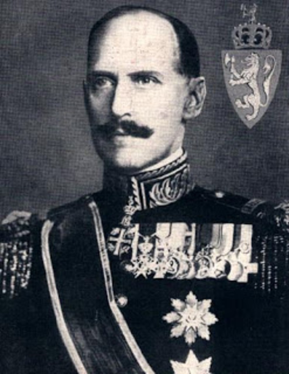 King Haakon VII, of Norway Also known as Prince Carl became king in 1905 b1872-d1957 public domain