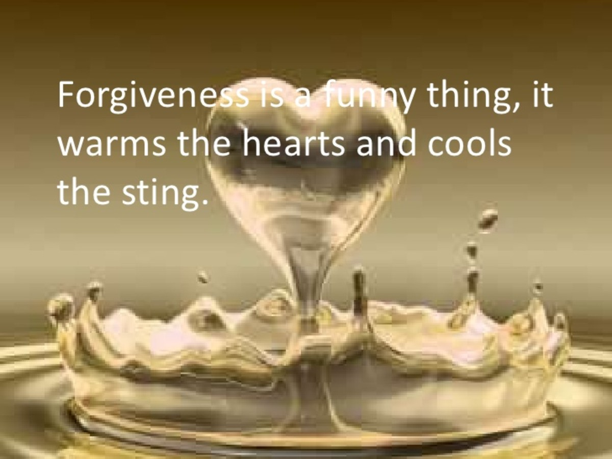 It's About Forgiveness