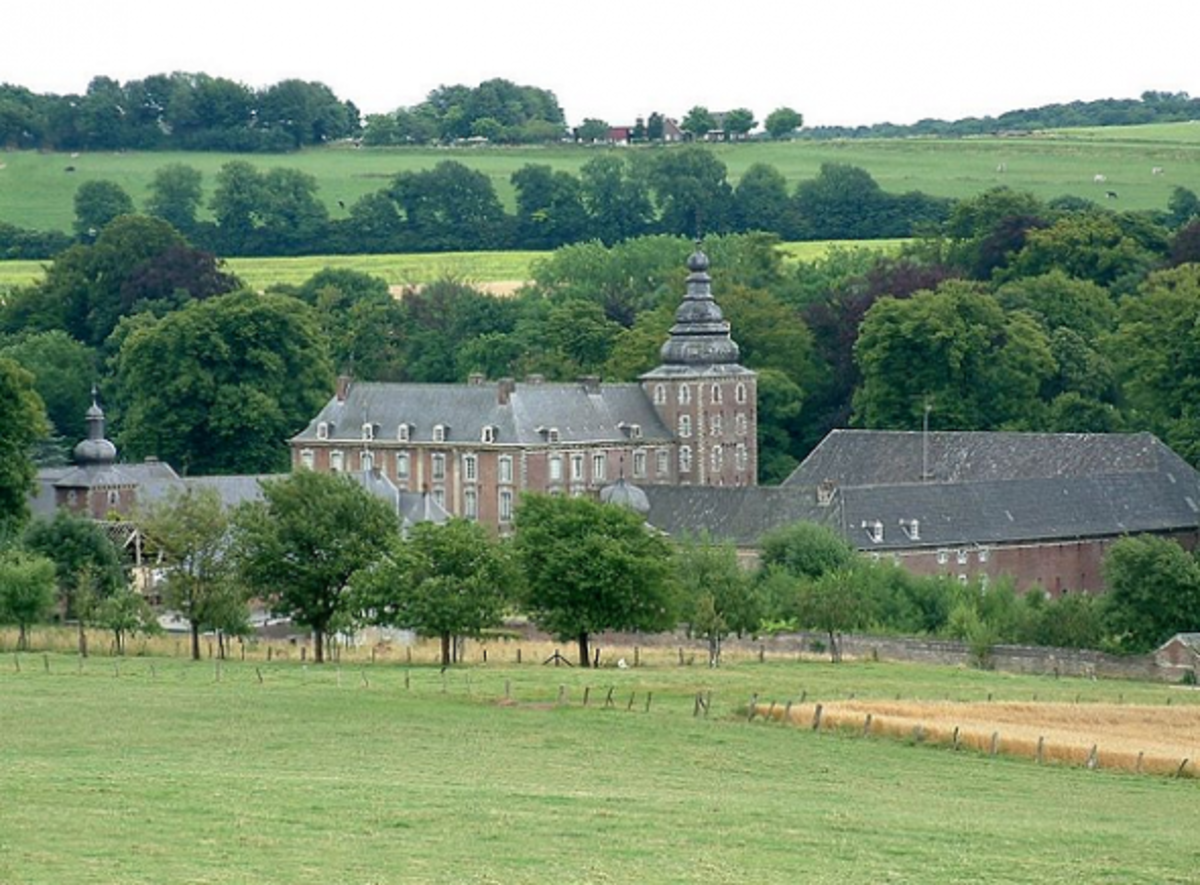 The Castle of Neubourd in Gulpen, The Netherlands