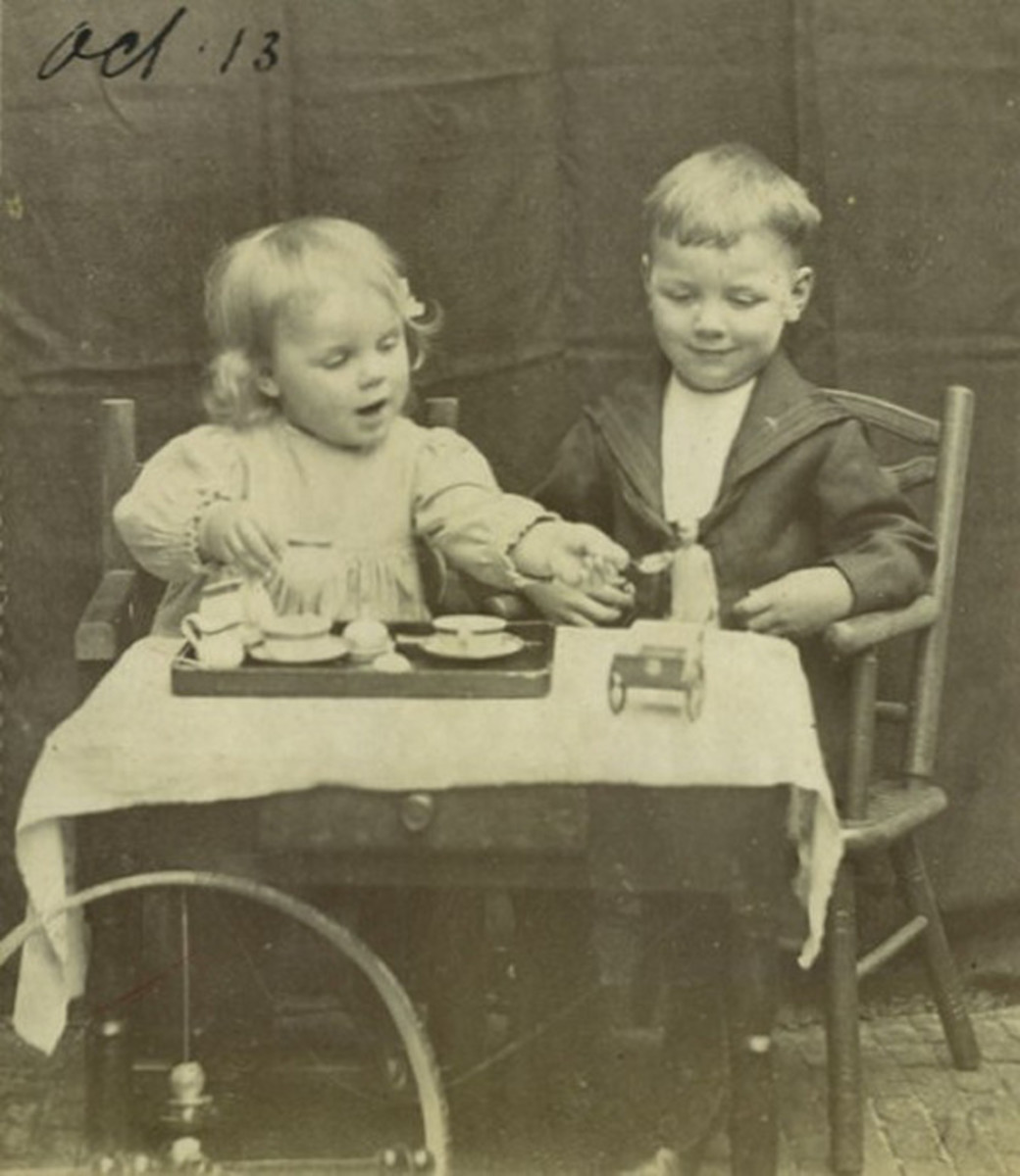 Synco with his sister Heleen