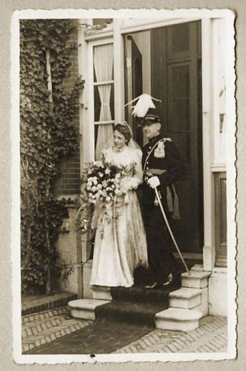 Wedding mom and dad October 21, 1939