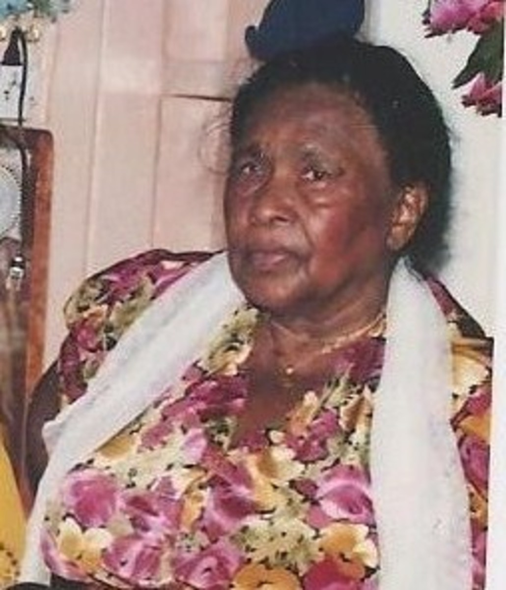 My paternal Grandmother at 74 years of age.