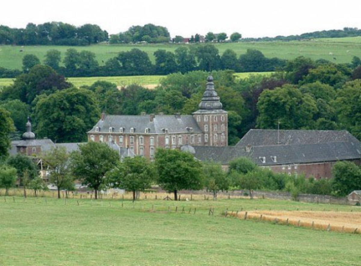 Castle Neubourg In Limburg, the Netherlands