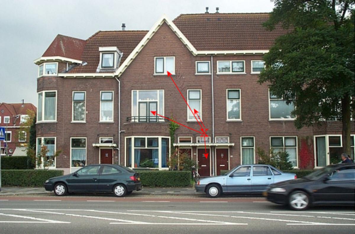 Krispijnseweg in Dordrecht, The Netherlands
