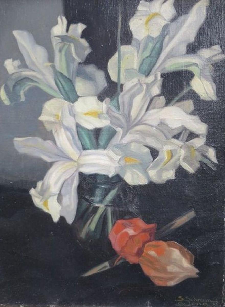 White Lillies by Synco Schram de Jong