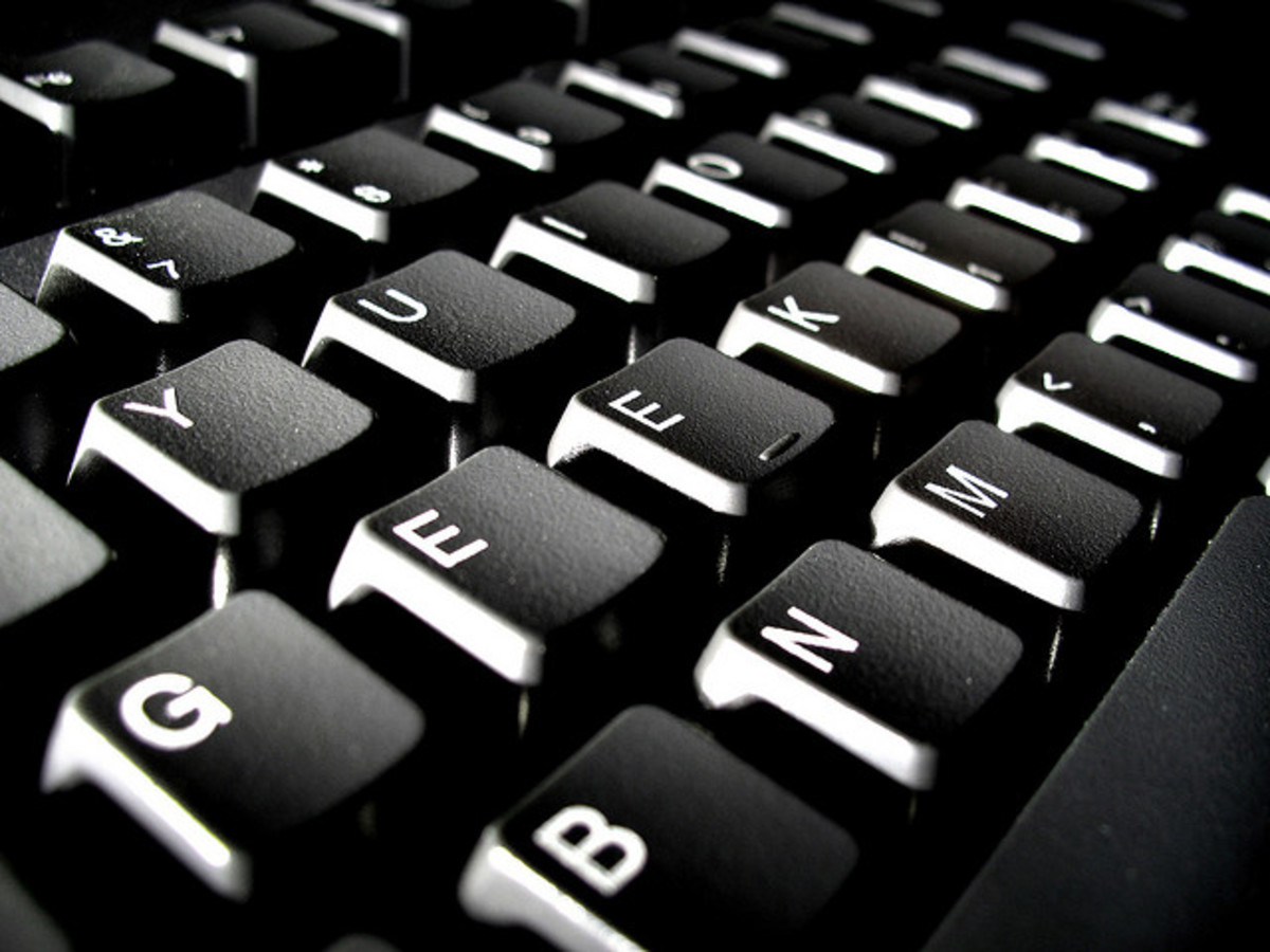 A keyboard is where creation begins for the poet.