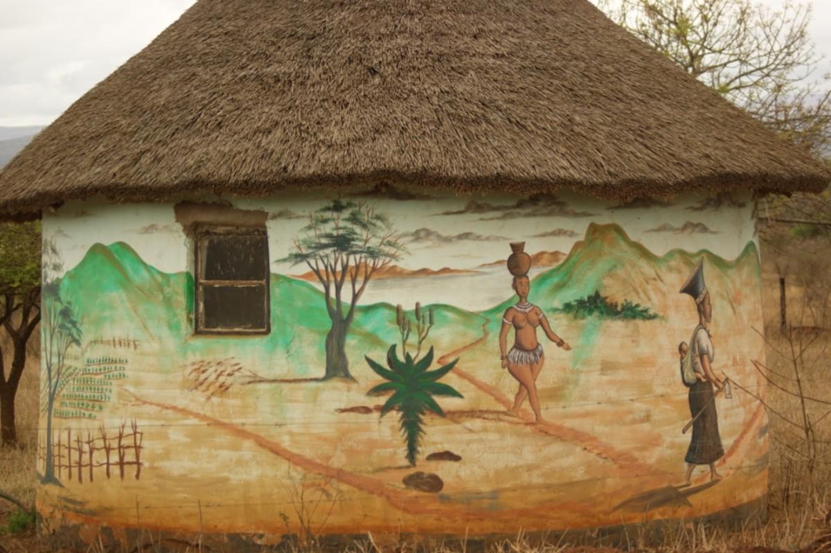 Creative Hut at Mukuze, South Africa
