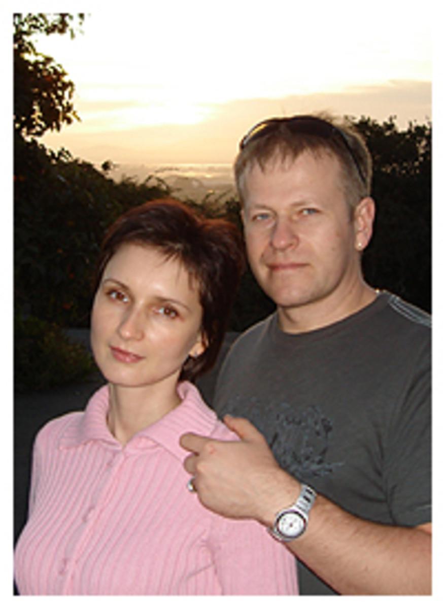 Inessa and Michael Garmash
