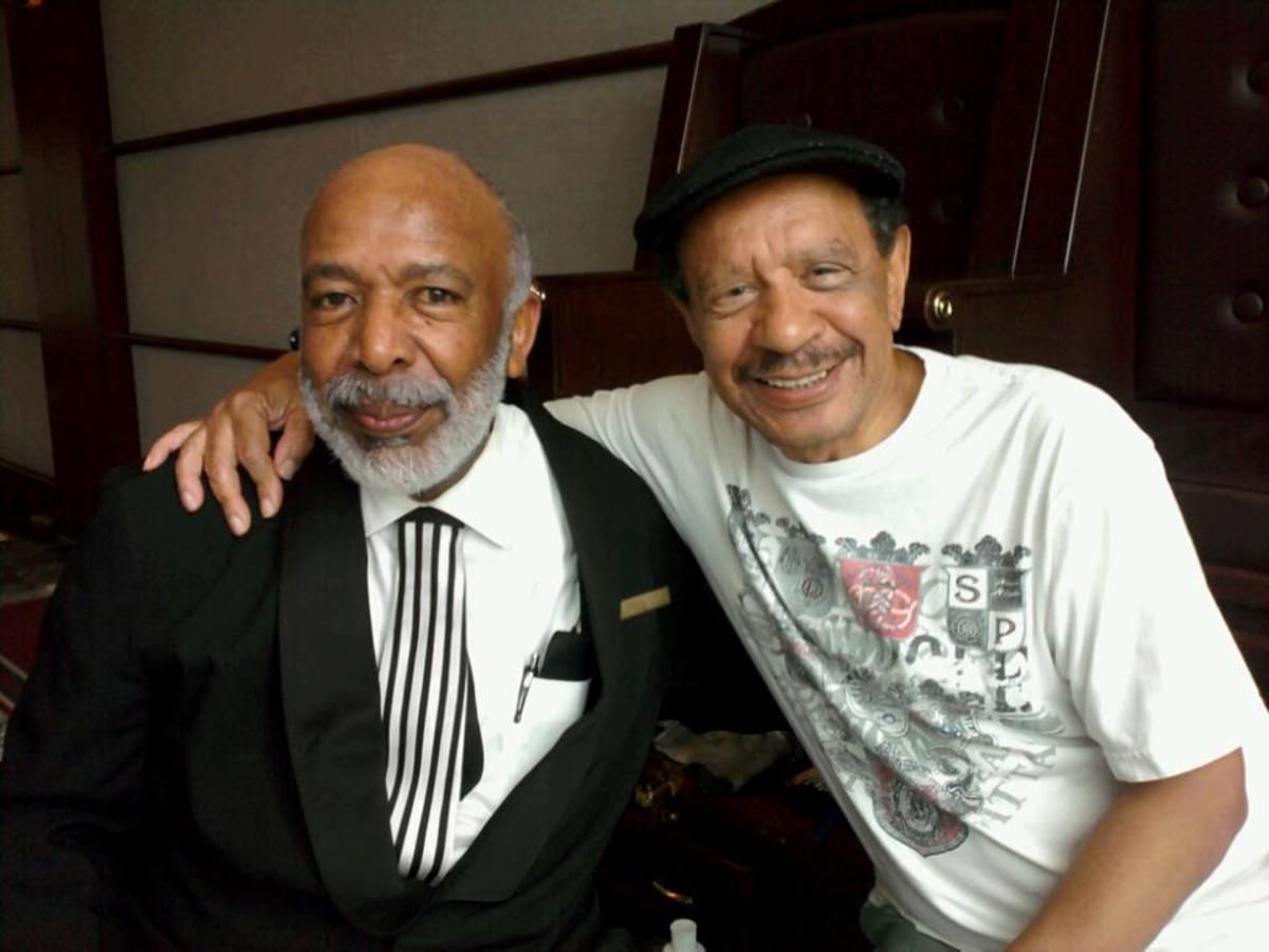 "Bea's Boy with Sherman Hemsley of ""The Jeffersons."""