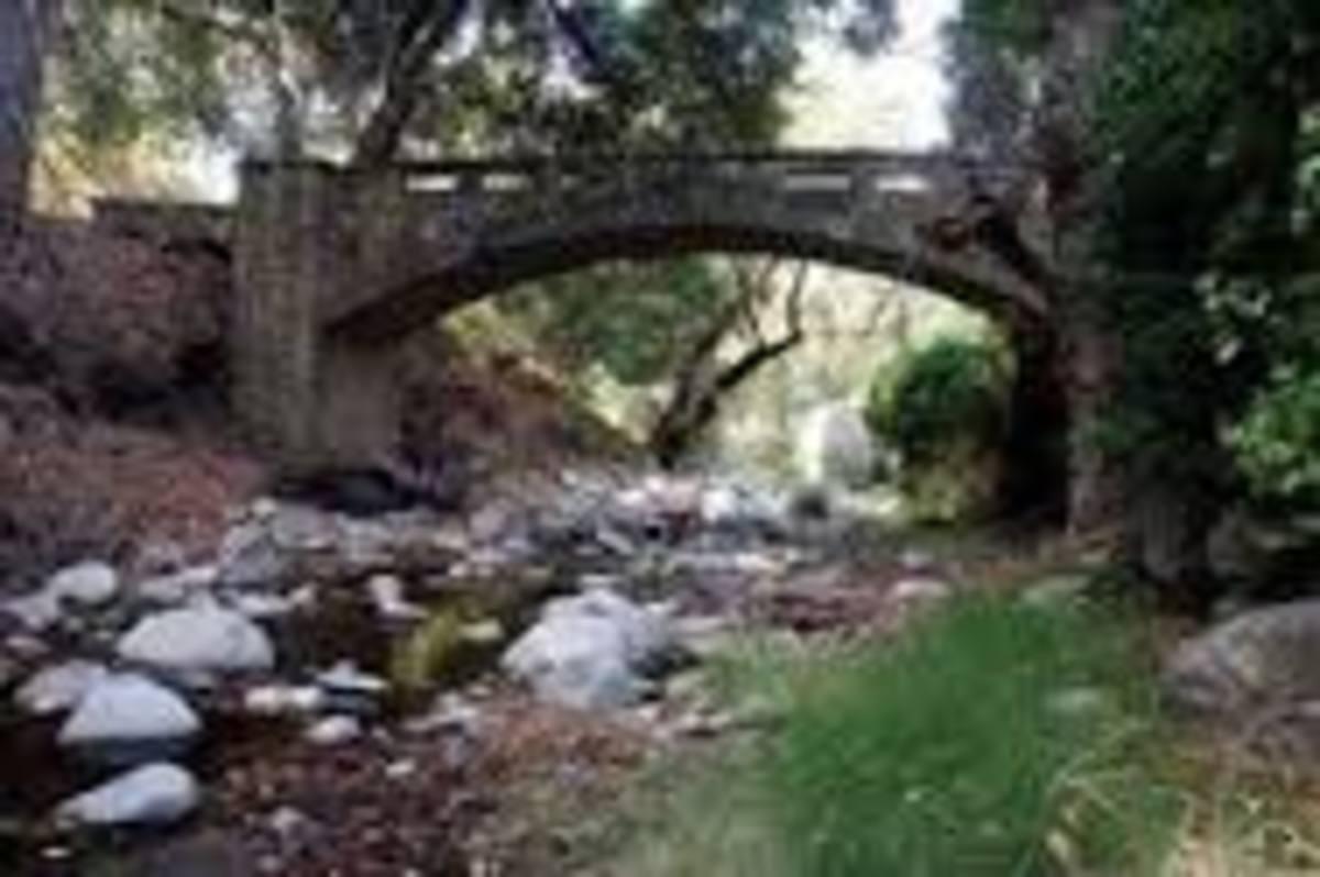 Alum Rock Park in San Jose, CA