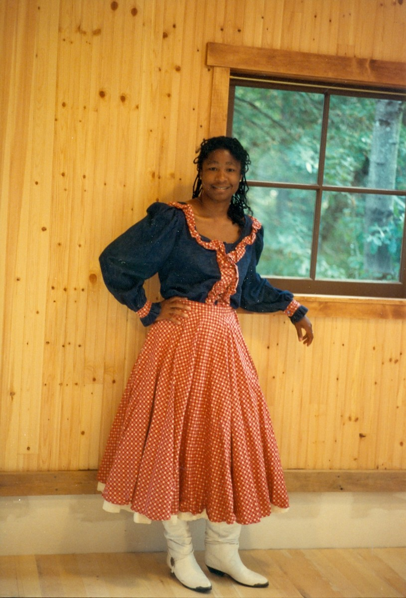 Me, in one of my contra dance outfits