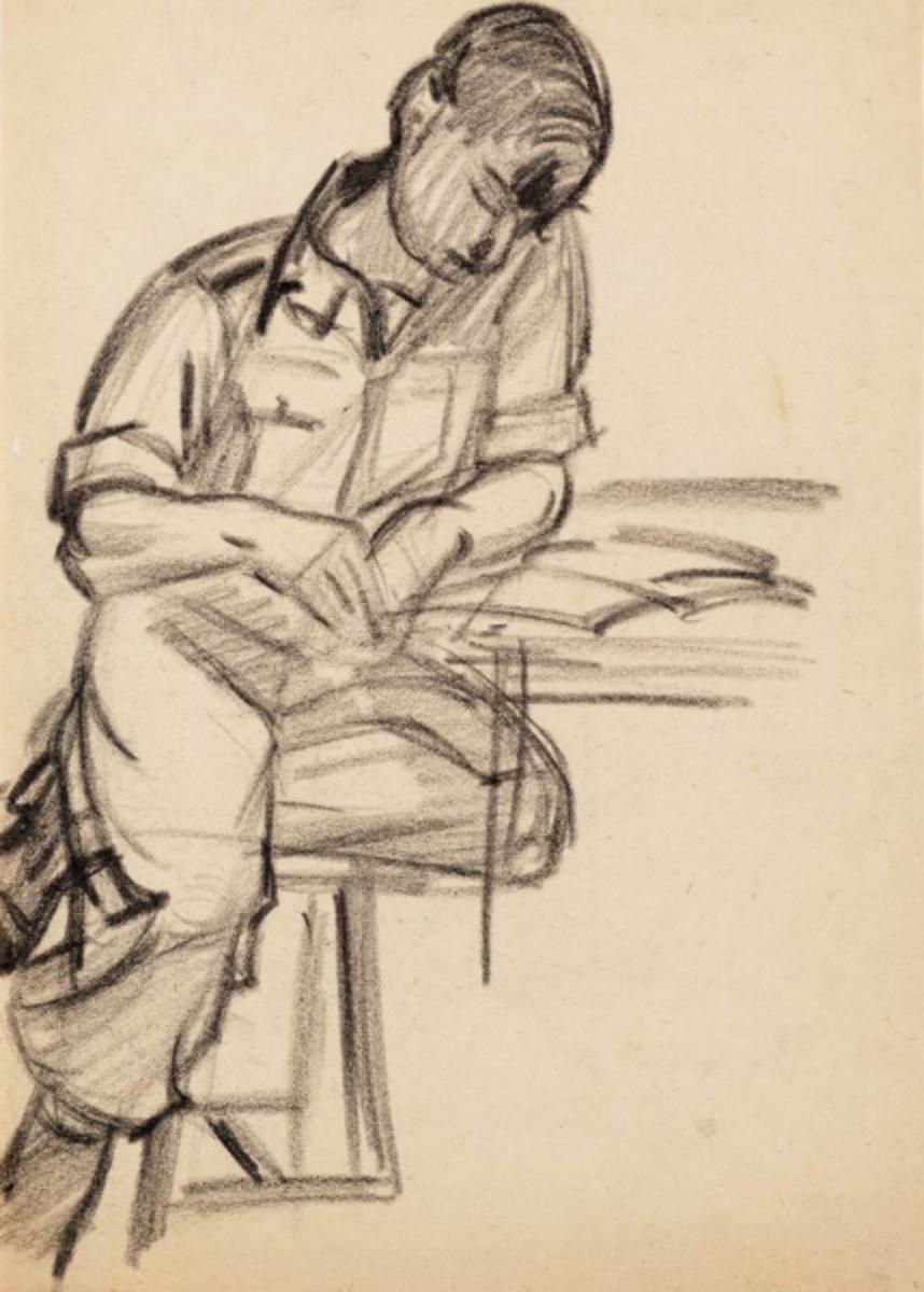 Passing Time in Between War Action in Java 1946-1949 by Synco Schram de Jong