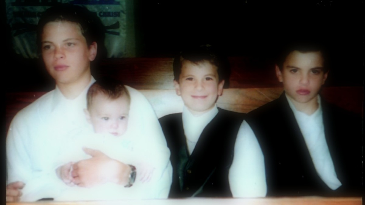 These are my 4 boys - Just like Barbara Boyd (my 4 times great grandmother) had four sons, so did I - Makes me feel a special connection to her too