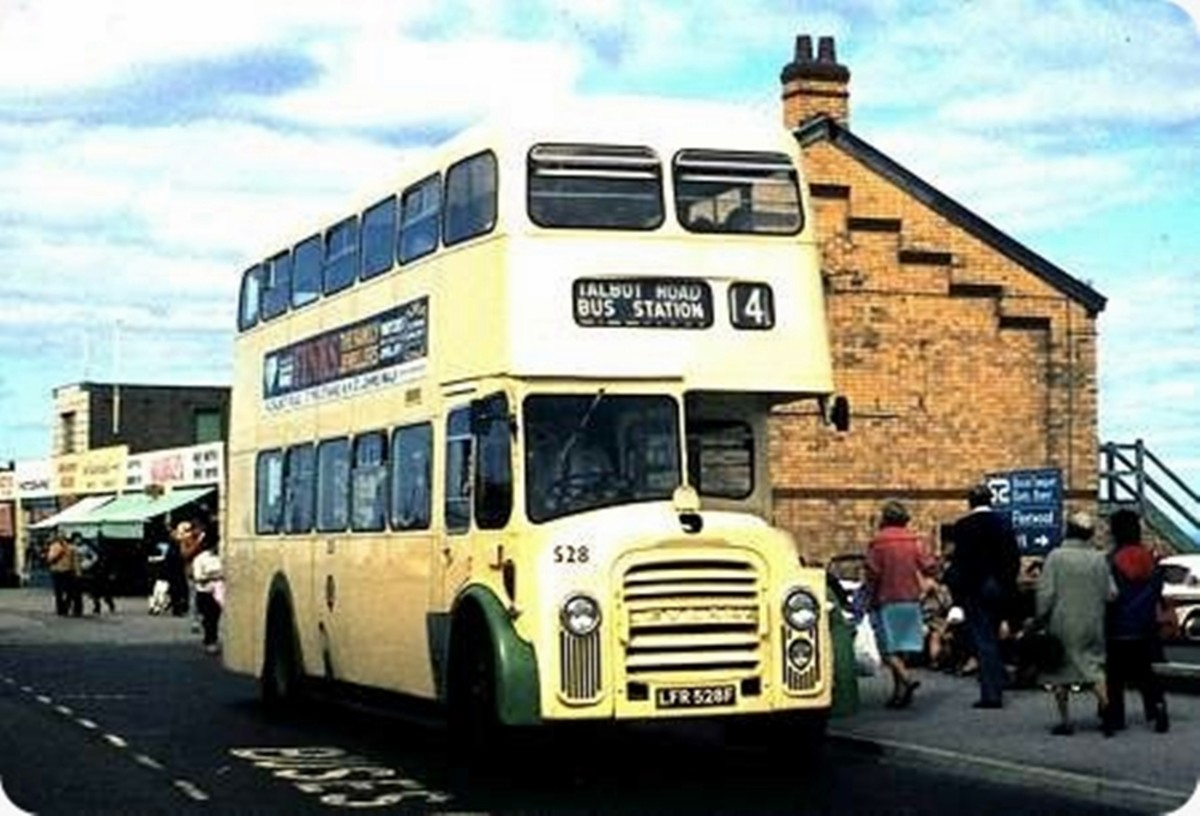 One of the old yellow buses which I used to catch to and from school, where kids from neighbouring schools would take the mickey out of us because of our bowler hats.