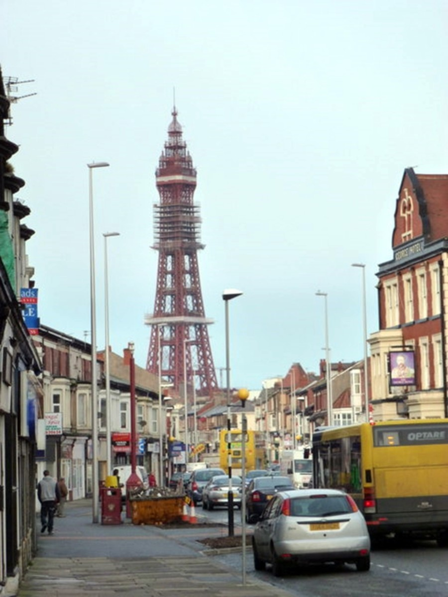 Central Drive, Blackpool, where my schoolfriends and I were spotted playing truant and reported to the head teacher.