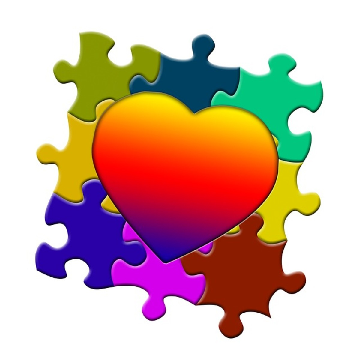 God's abiding love within us, shared with each other, is the key to feeling complete and whole.