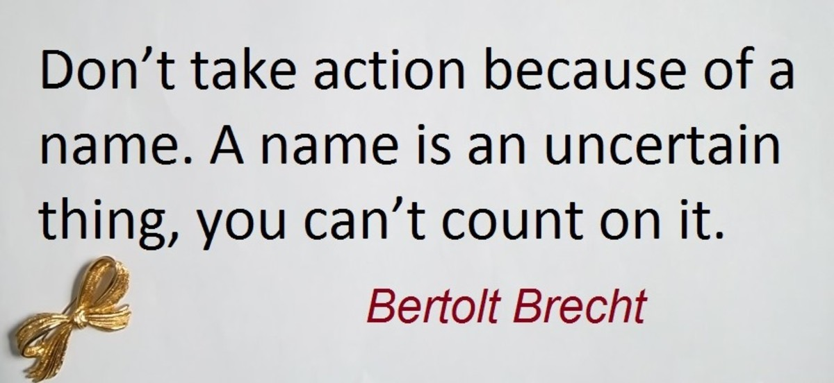 Bertolt Brecht born 10 February 1898 to 14 August 1956 was a famous German poet, and playwright.