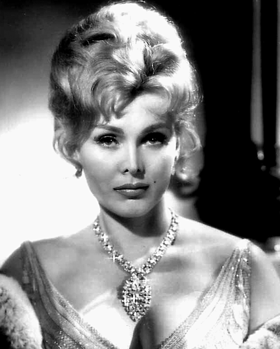 Zsa Zsa Gabor, born 1917. She is a  legendary screen actress and famous for marrying nine times