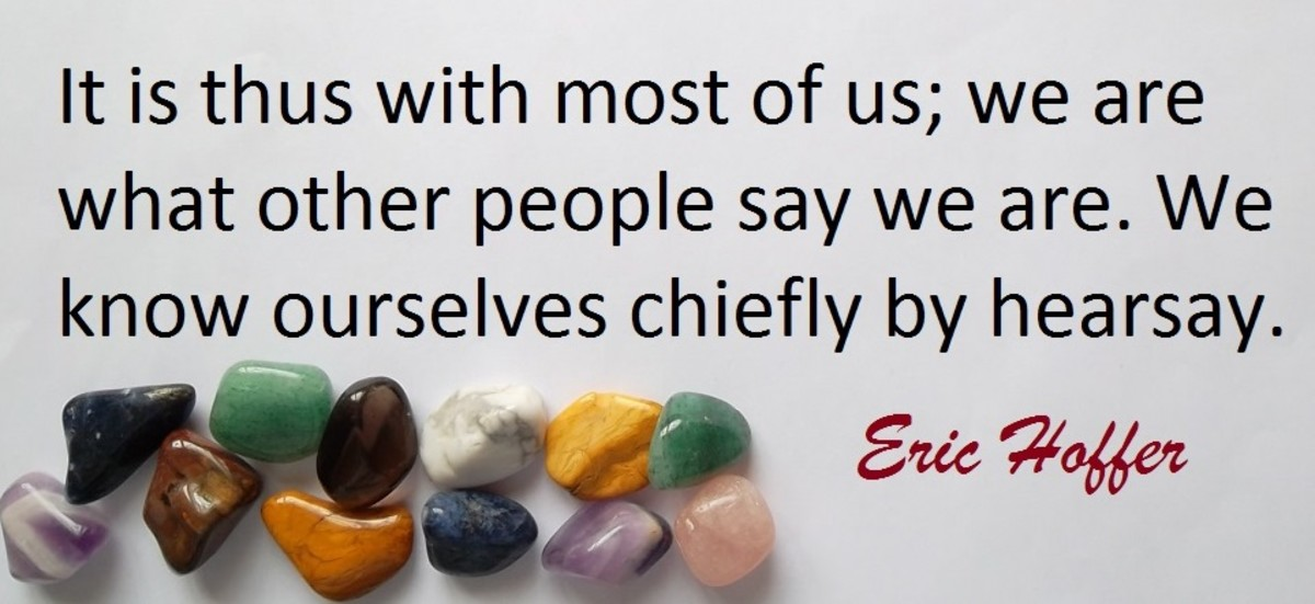 Eric Hoffer born July 25, 1902 to May 21, 1983 was a renowned American author and philosopher.