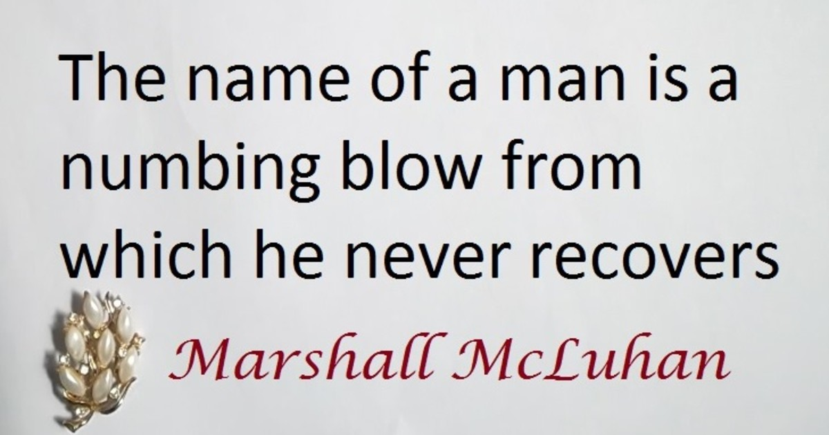 Herbert Marshall McLuhan born July 21, 1911 to December 31, 1980 was a renowned Canadian philosopher of communication theory.