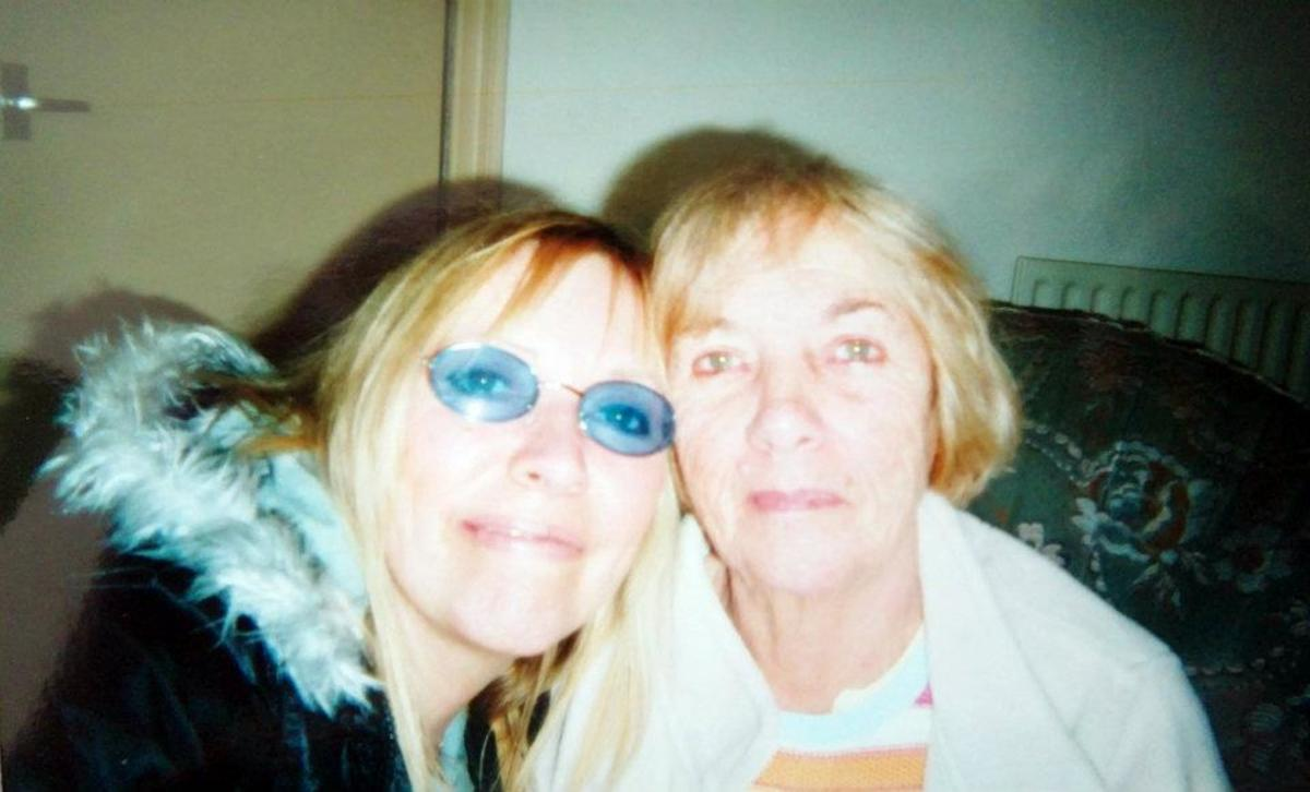 Me and mum on Mother's Day 2004.