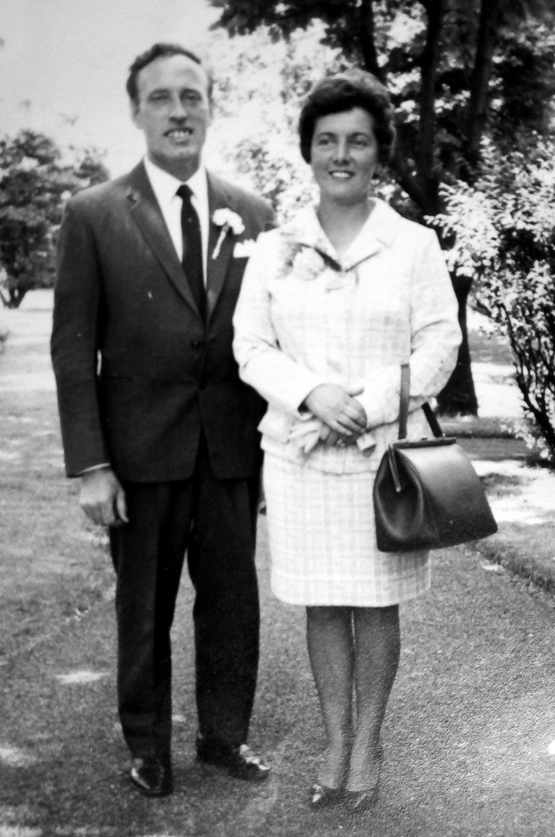 Mum and dad in the late 1960s