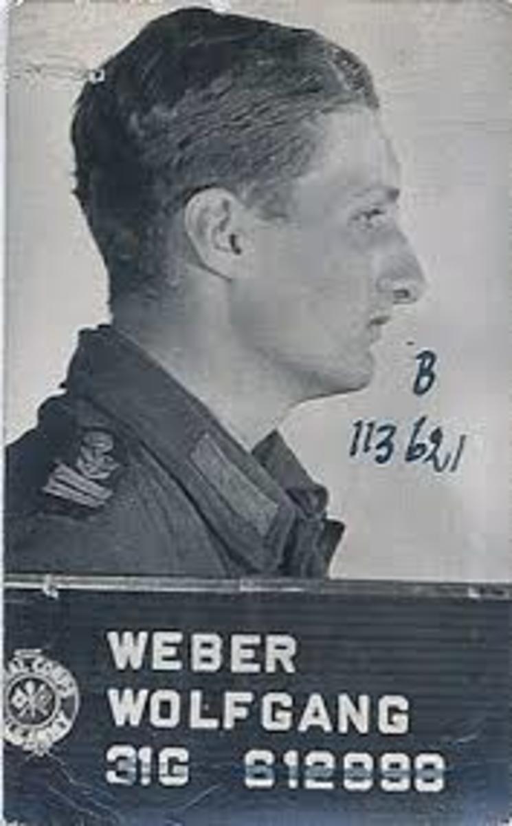 Wolfgang Weber.  German POW at Camp Howze.