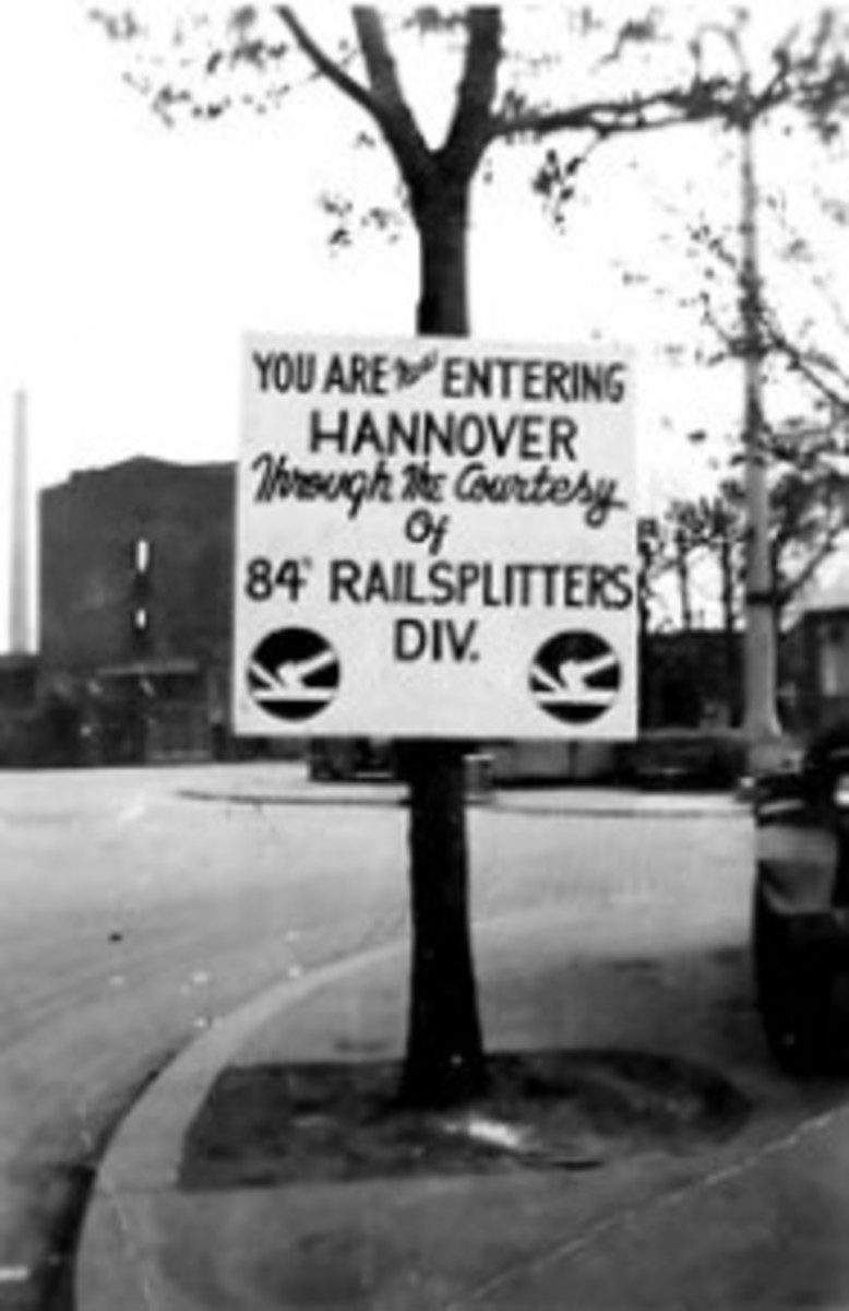 The Railsplitters in Hannover, Germany.  Here they liberated two concentration camps.